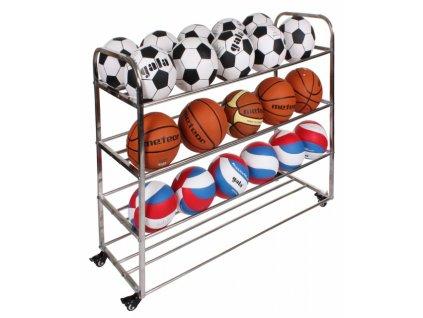 Pojízdný vozík až 40 míčů Ball Caddy 40