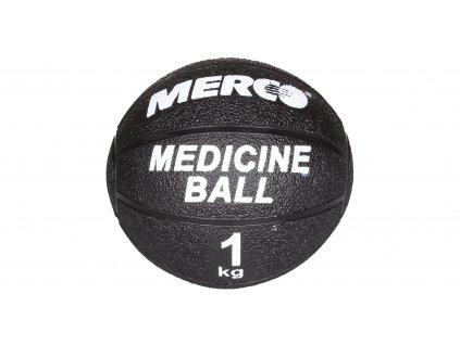 Medicinální míč Black gumový 4kg