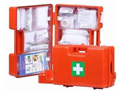 lekarnicka kufrik prvni pomoci s vybavou pro 10 osob 104525