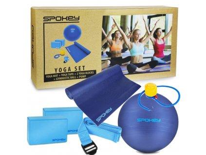asteya joga set podlozka gymnasticky mic vc pumpicky blok pasek 107616