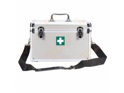 lekarnicka hlinikovy kufrik s vybavou sport profi 103042 103042