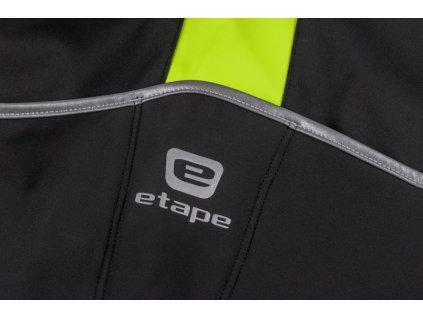 Pánská zimní bunda Etape Strong WS (Barva černá/žlutá fluo, Velikost 2XL)