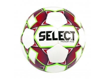Fotbalový míč Select FB Indoor Five    (Barva bílá/červená, Vel. míče 4)