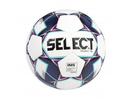 Fotbalový míč Select FB Tempo TB    (Barva bílá/fialová, Vel. míče 5)