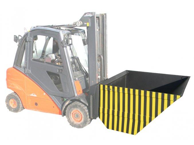 Hydraulická lopata SH 2-200, šířka 2000 mm, objem 2000 litrů