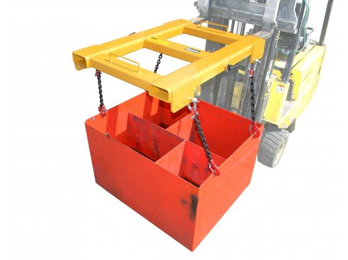 Nosič trakční baterie NB 02 pro vysokozdvižný vozík