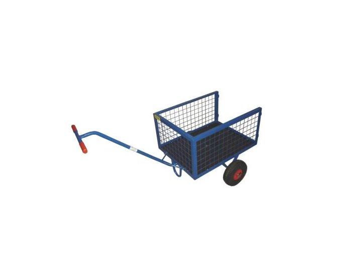 Malý dvoukolový zahradní vozík