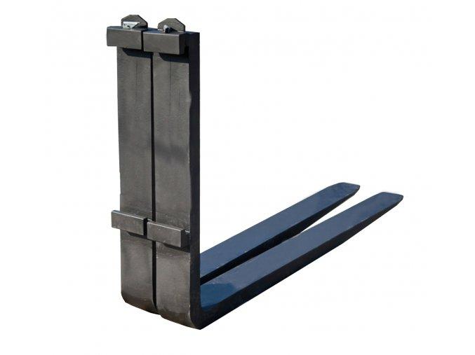 Nosná vidlice, nosnost 2500 kg, 100x40x1200 mm