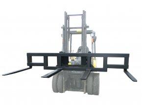 Traverza na VZV, 4 nosné vidle, nosnost 1500 kg, šířka 3500 mm