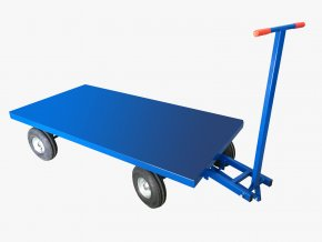 Plošinový vozík KB 300 S, 1,5 tuny