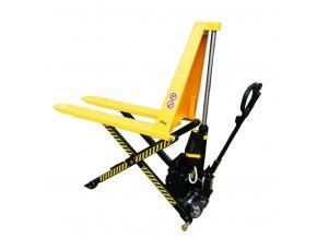 Nůžkový paletový elektrický vozík HB10, nosnost 1000 kg