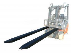 Prodloužení vidlic, délka 2400 mm, nosnost 1600 kg