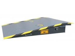 Mobilní kontejnerová rampa GK , délka 2200 mm, šířka 2000 mm
