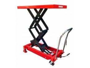 Hydraulický zvedací stůl LMFD 35, nosnost 350 kg