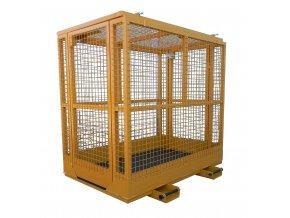 Montážní skládací plošina pro vysokozdvižný vozík PR 0812-SKL, rozměr 800x1200 mm
