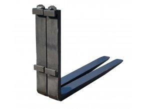 Nosná vidlice, nosnost 2500 kg, 100x40x1500 mm