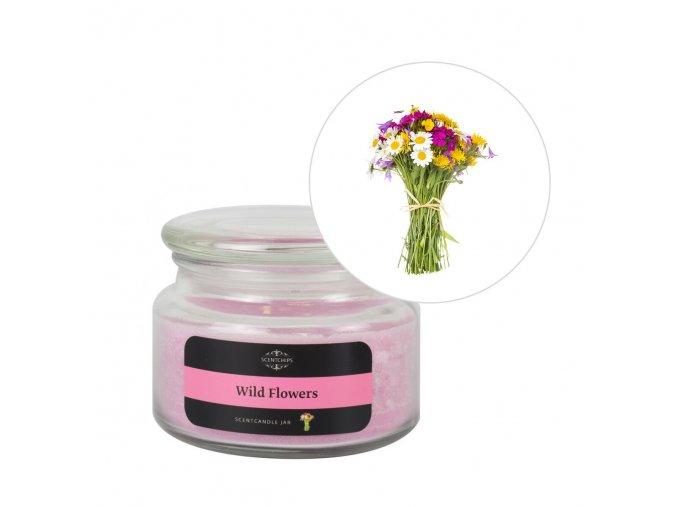 Vonná svíčka Wildflowers ScentCandles Scentchips®