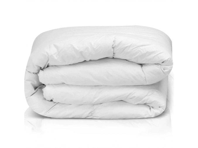 Vlněná přikrývka zimní 240x220 cm bílá