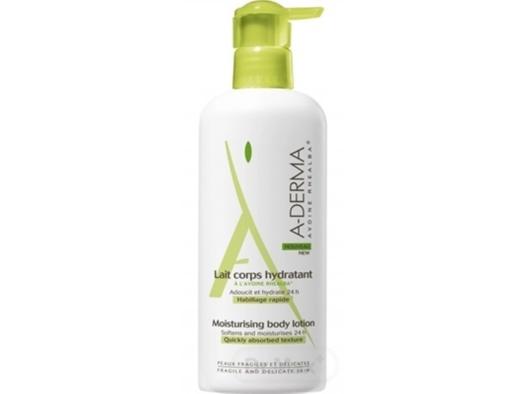 7398 a derma original care hydratacne telove mlieko softens and moisturises 24h with pump 400 ml