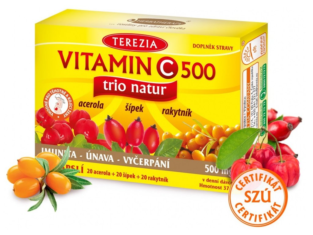 terezia company vitamin c trio 60 kapsul ilieky