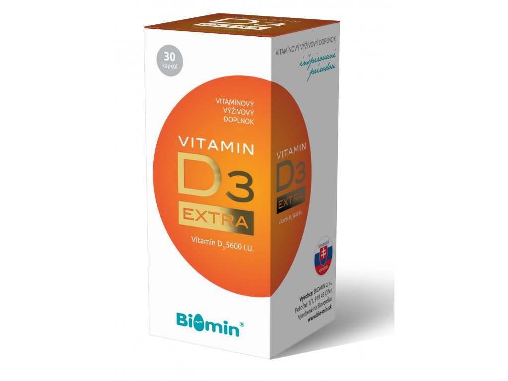 vitamin d extra biomin 30 kapsul ilieky