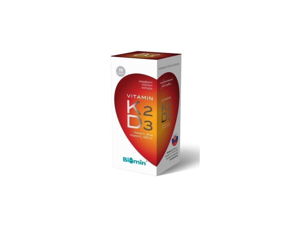 vitamin k2 d3 biomin 30 kapsul ilieky