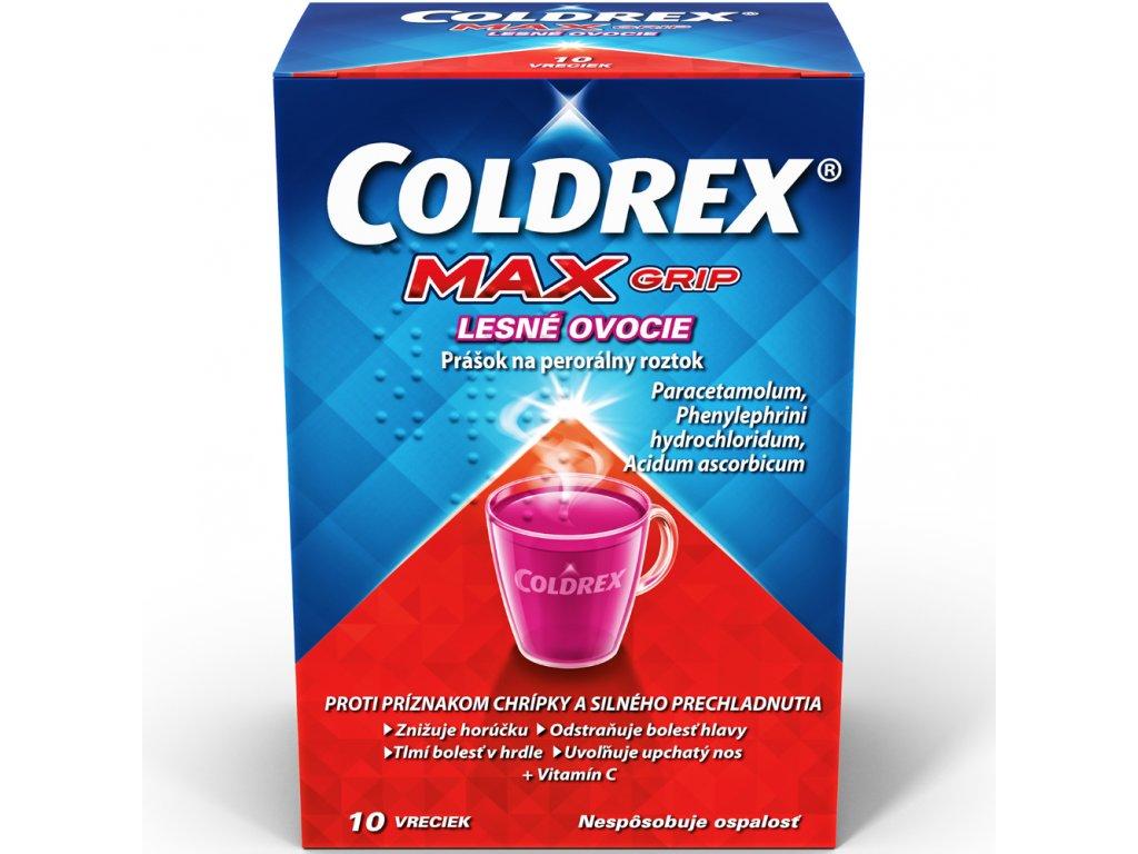 coldrex maxgrip lesne ovocie vrecka 10ks ilieky com