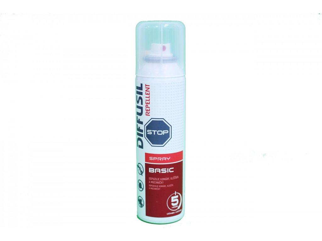 829 diffusil repelent basic sprej 100 ml