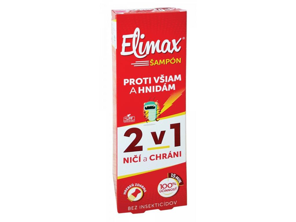 elimax 2v1 sampon 100ml ilieky