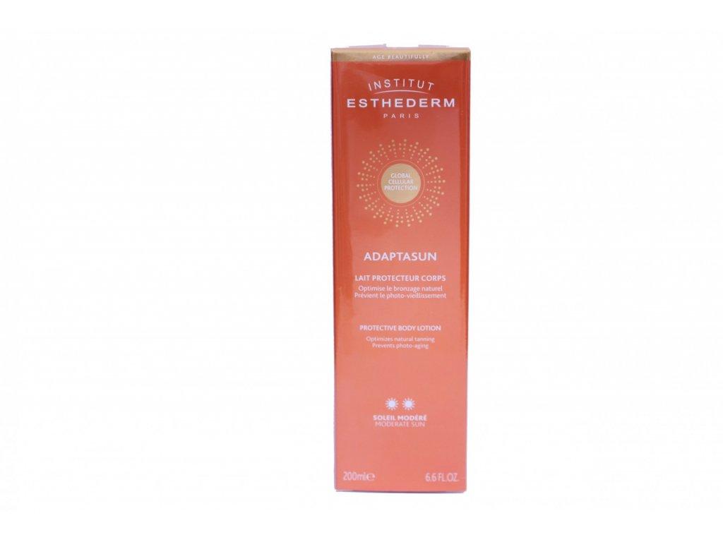 985 esthederm adaptasun body lotion normal to strong sun 200ml