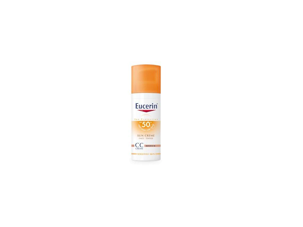 3406 eucerin cc krem na opalovanie spf 50 stredne tmavy 50 ml