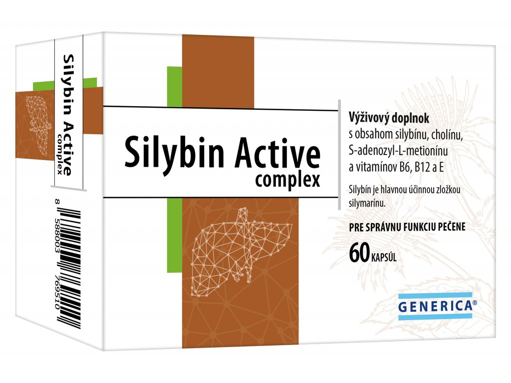 generica silybin active complex 60 kapsul ilieky