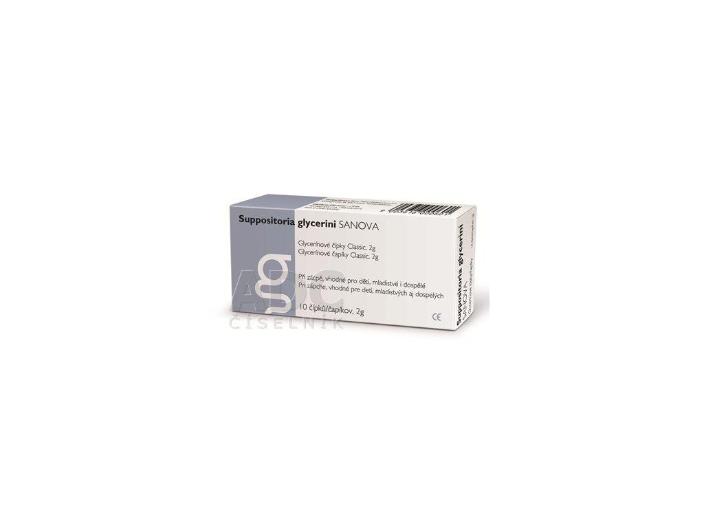 glycerinove cipky pre dospelych 2g 10 ks ilieky