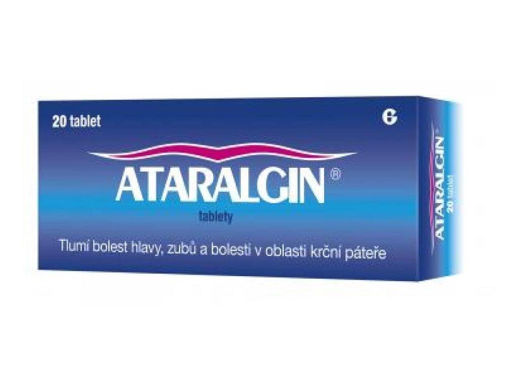 ataralgin tablety 20 ilieky