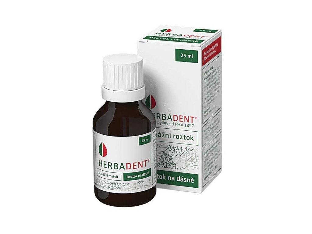 herbadent gingivalny roztok 25ml ilieky