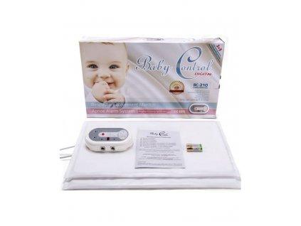 Monitor dychu Baby Control BC-210, s 1x2 senzorovými podložkami