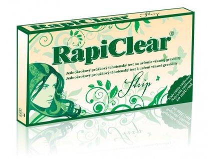 rapiclear strip tehotensky baby test 1ks ilieky com