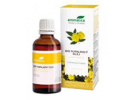 aromatica pupalkovy olej s vitaminem e 50 ml ilieky