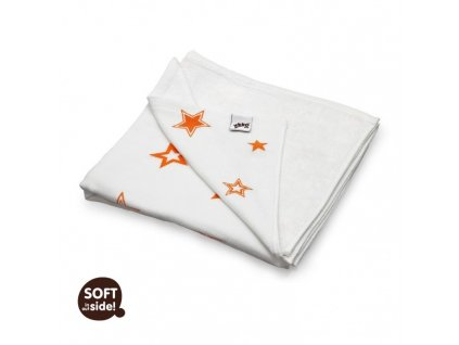 XKKO BMB detská deka Orange Stars - 130x70