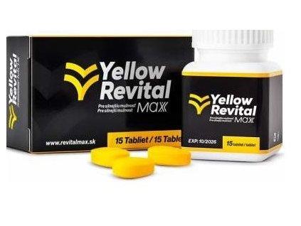 yellow revital 15 tabliet lekarenmoja sk