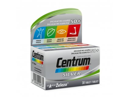 pfizer centrum silver s multi efektem 30 tablet ilieky