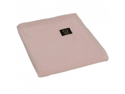 YOSOY Clover Detská deka zo 100% bambusu, 100x80 cm, Dark Pink