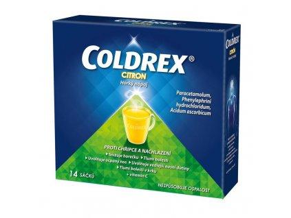 Coldrex Horuci napoj Citron 14 ks vreciek ilieky com