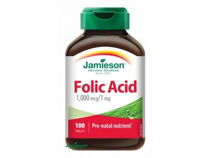 jamieson folic acid 100 tbl.ilieky