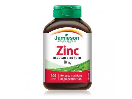 jamieson zinc 10mg 100tbl ilieky