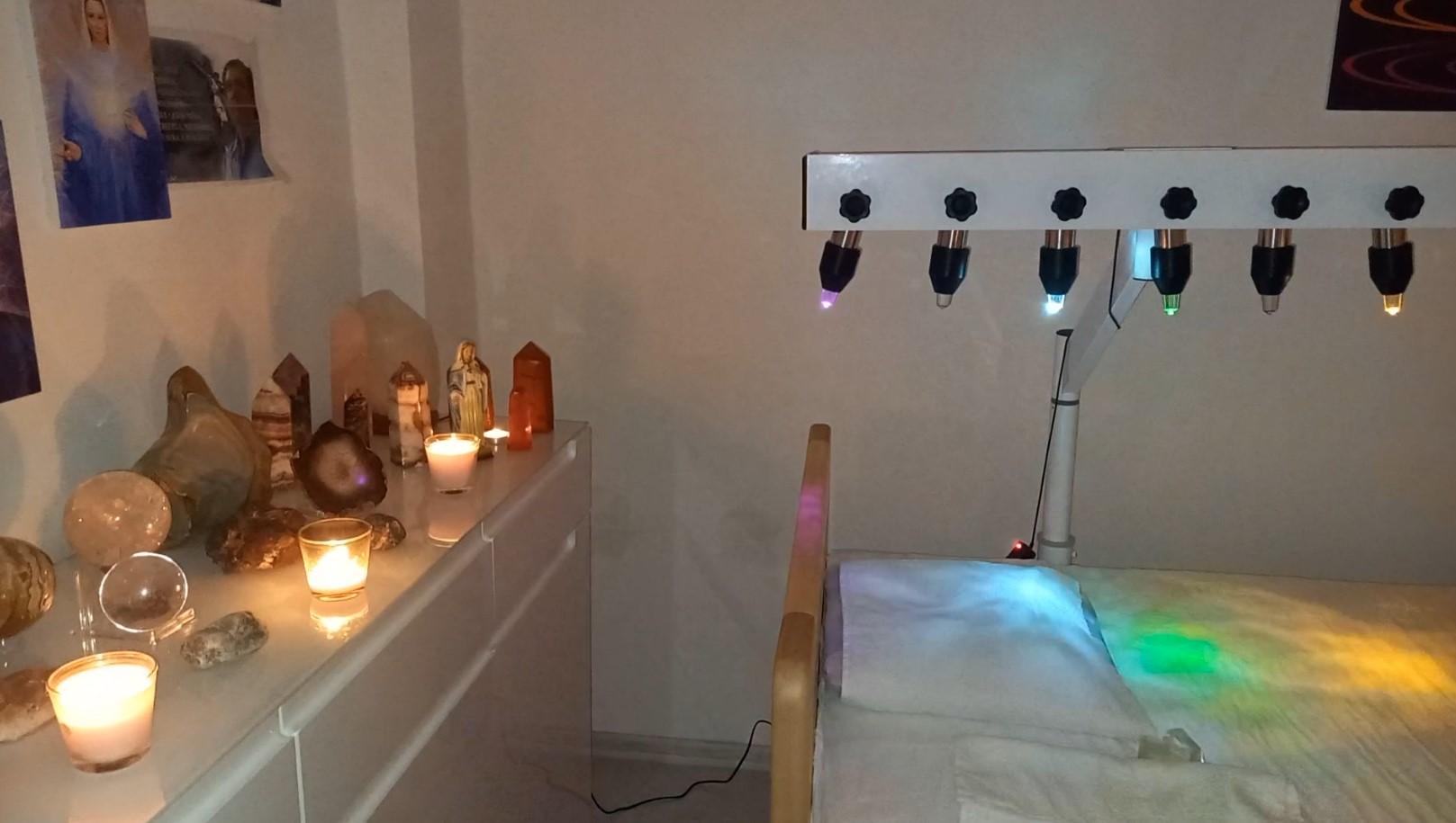 Křišťálová postel - léčba energetických těl