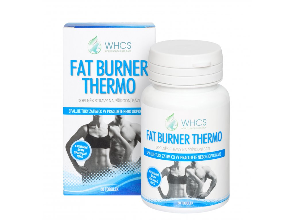 Fat Burner Thermo, 60kpsl., spalovač tuků
