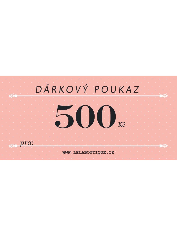Poukaz 500 2