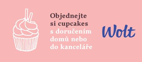 Objednejte si cupcakes s doručením přes Wolt