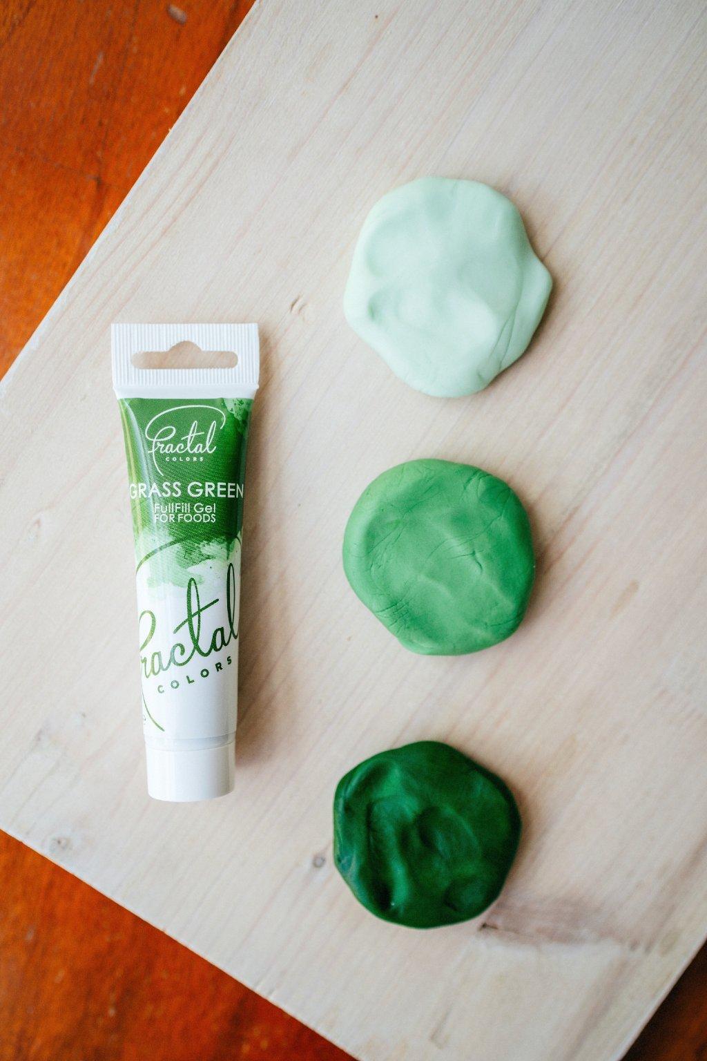 Gelová barva Fractal - Grass Green (30 g)